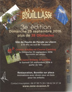 Course LA BOUILLASSE 3ème édition