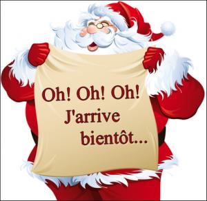 Le Père Noël au Moulin de Parade